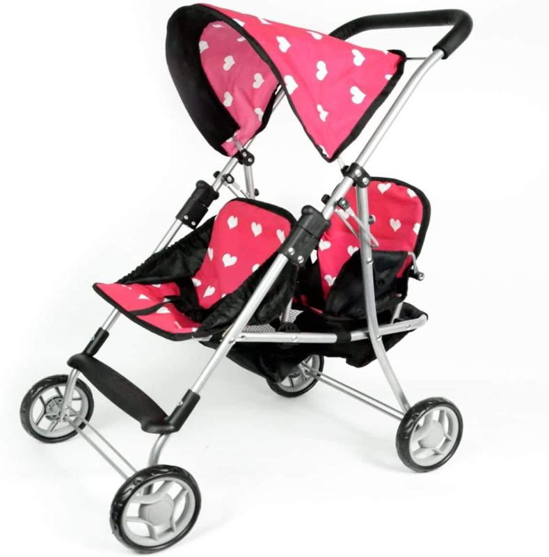 The New York Doll Collection First Doll Twin Stroller - Cute
