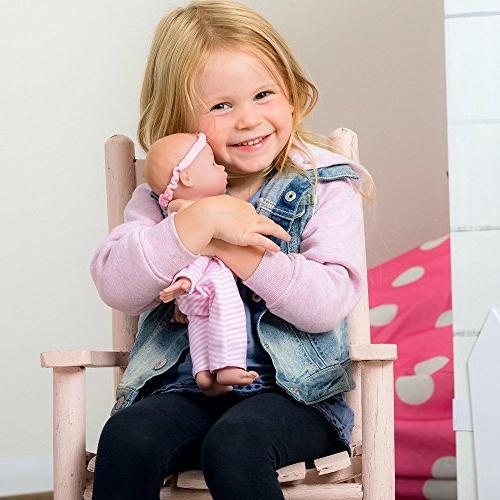 Adora Sweet Girl Doll Vinyl Toy 11-inch Light Skin Blue Eyes for Children Age 1+