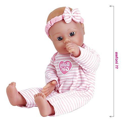 Adora Doll Washable Body Vinyl 11-inch Blue Eyes Age 1+