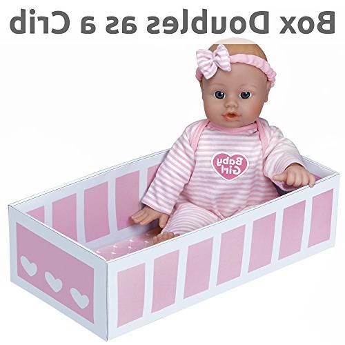 Adora Sweet Baby Doll Washable Vinyl Toy 11-inch Skin Age