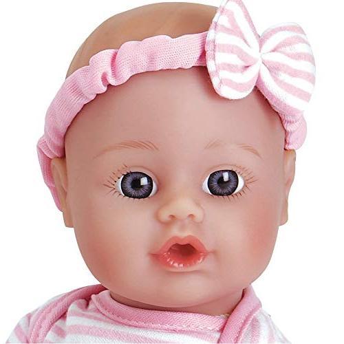 Doll Soft Vinyl Toy 11-inch Skin Blue Age 1+