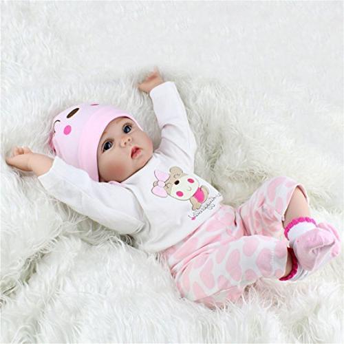 Lifelike Newborn Reborn Gift Baby Dolls Handmade Body