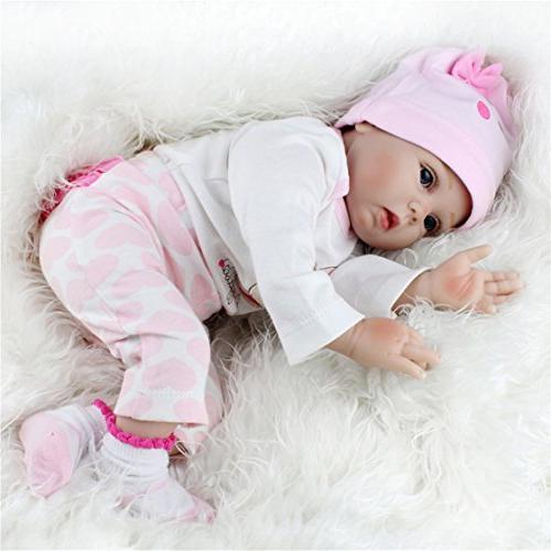 TraveT Reborn Gift Baby Dolls Handmade Body