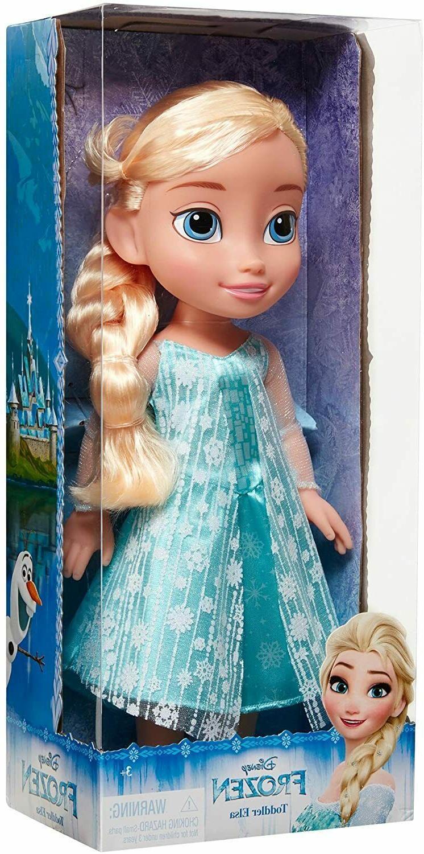 Disney 43221-10211 Frozen Elsa Toddler Doll, Blue