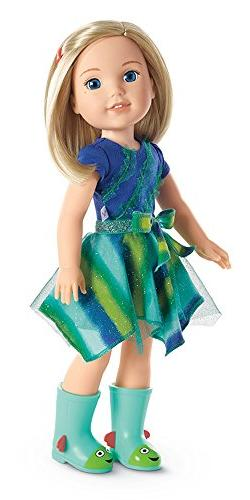 NEW - AMERICAN GIRL DOLL Wellie Wishers CAMILLE Blonde Hair