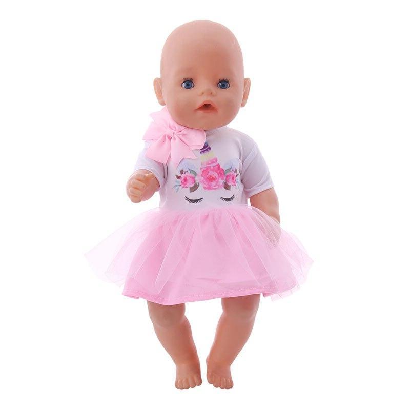 <font><b>Doll</b></font> <font><b>Clothes</b></font> 15 T-Shirt+Skirt/Pants Fit 18 Cm <font><b>Doll</b></font> For <font><b>Our</b></font> <font><b>Generation</b></font>