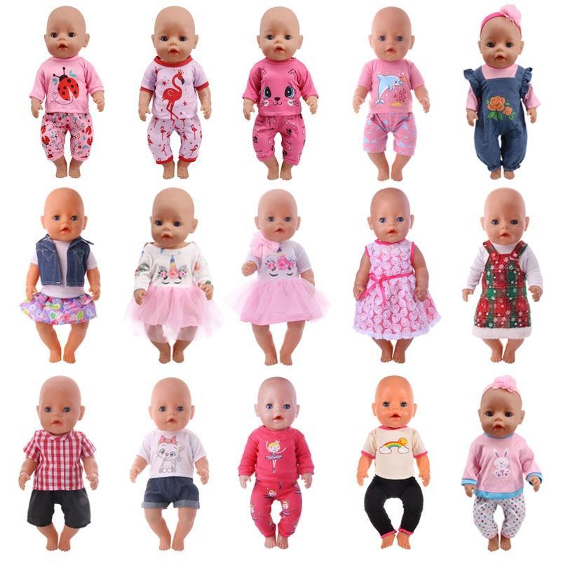 <font><b>Doll</b></font> T-Shirt+Skirt/Pants <font><b>Dress</b></font> Fit Cm Baby <font><b>Our</b></font> <font><b>Generation</b></font>