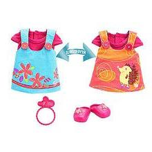 Baby Alive Fun and Fancy Reversible Dress Medium