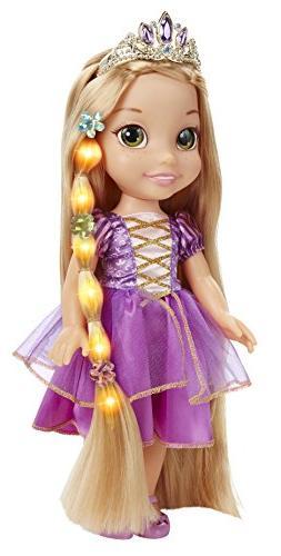Disney Tangled Glow & Style Rapunzel Toddler Doll