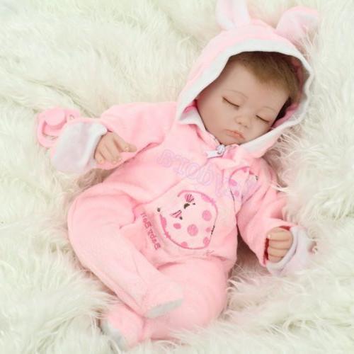 """16""""Realistic Reborn Doll Kid Toy Birth"""