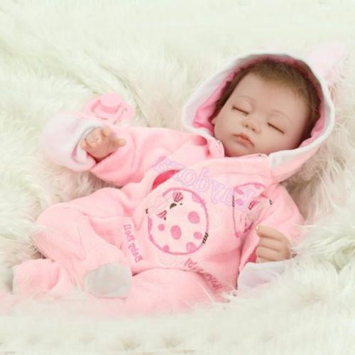 Handmade Lifelike Sleeping Reborn Baby