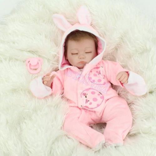 Handmade Realistic Sleeping Newborn Reborn Baby