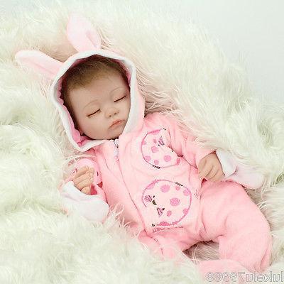 Lifelike Real Soft Silicone Baby Gift