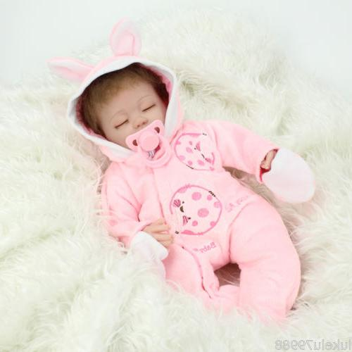 Lifelike Reborn Baby Real Soft Silicone Gift
