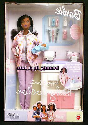 Happy Family Pregnant Barbie Midge & 5 Cribs
