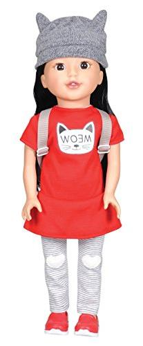 Bumbleberry Girls Kids Jaimee Girl Doll, Asian, 15""
