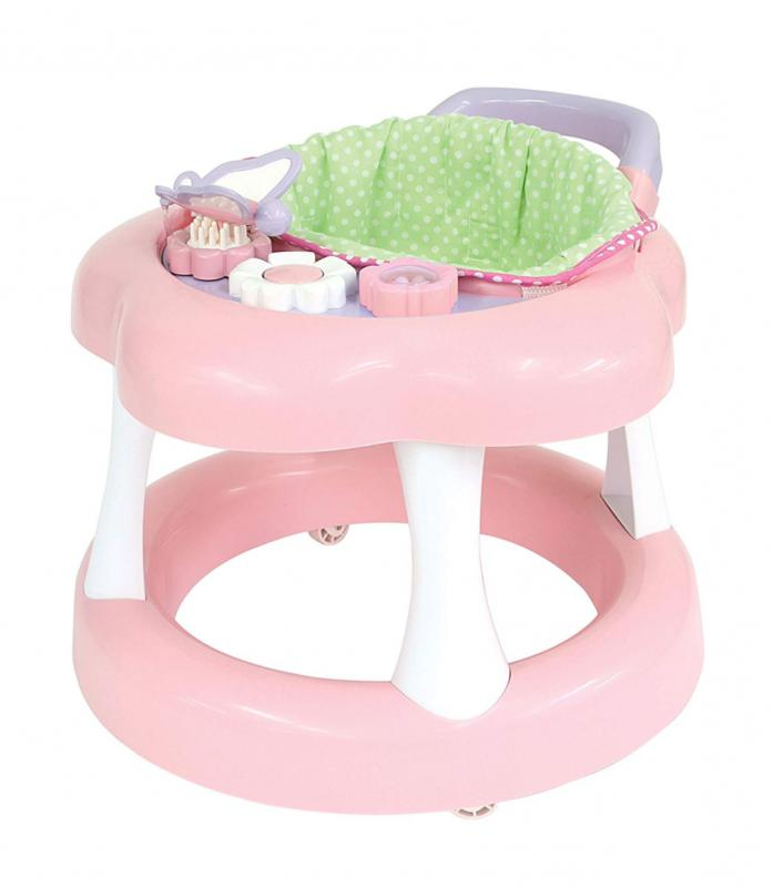 keeps baby doll walker with play