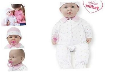 la baby 20 inch soft body pink