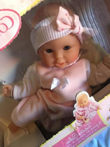 Corolle Girl Calin Doll NIB DAMAGED