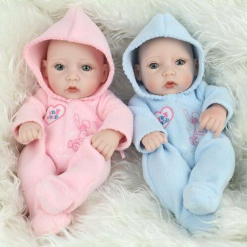 "10"" Full Silicone Reborn Baby Newborn Toy"