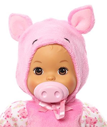 Little Mommy Up Cuties Pig Doll