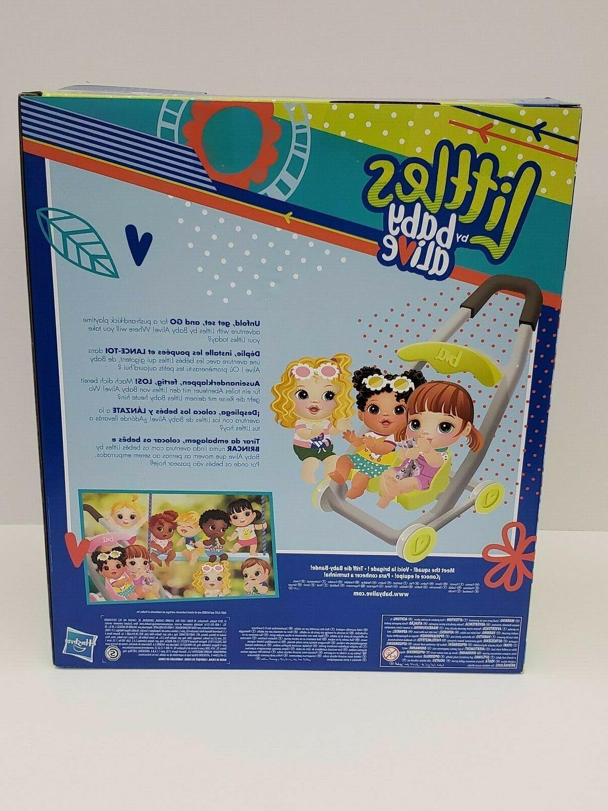 Littles By Baby - Stroller, Bottle Hasbro