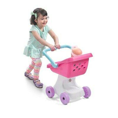 Step2 Love Play Kids Toy and Doll Stroller Set