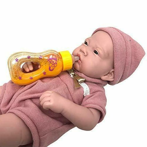 The New Doll Collection Juice Milk Bottle Baby Dolls Lightweight