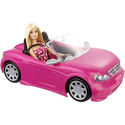 mattel barbie doll glam convertible car