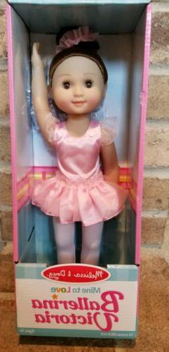Melissa & Doug's Ballerina Victoria - 14 Inches - NEW!