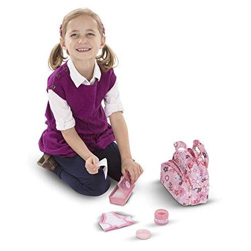 "Melissa to Diaper Set, Fabric Compartments, Self-Stick 10.75"" x W x"
