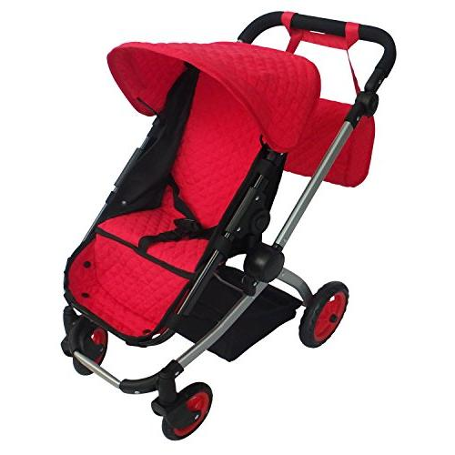 modern babyboo stroller quilted fabric