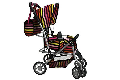 Mommy & Doll Pram Back Wheels & Carriage -