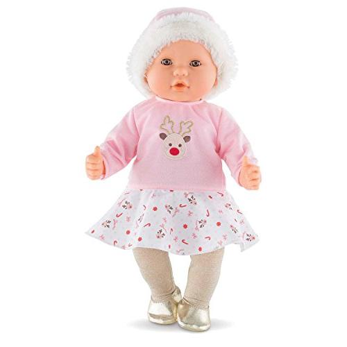 Poupon Baby Doll - Reindeer, Pink