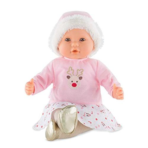 Corolle FPK21 Poupon Baby Doll Reindeer, Pink