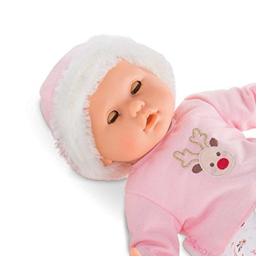 Corolle Poupon Baby Doll - Reindeer, Pink