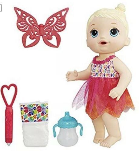 New! Face Paint Fairy Hasbro Doll - Blond Pee Doll