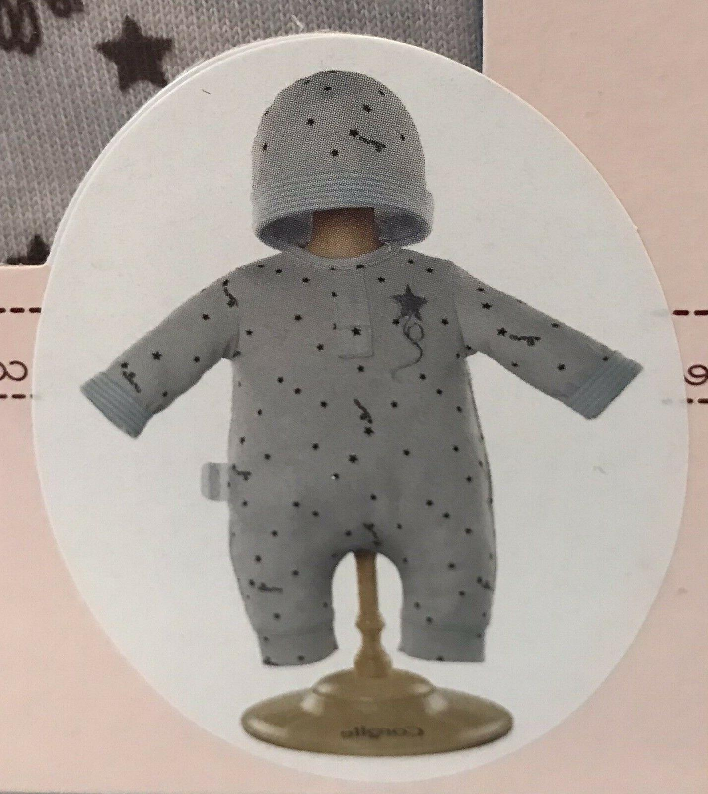 """New Baby Clothes Grey Star Outfit Set for 14"""""""