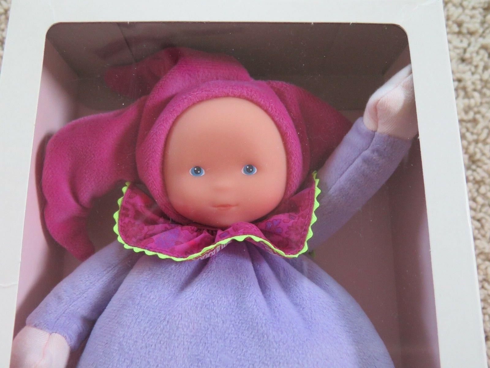 NEW NIP Corolle Doll Babi Flowers Purple Pink