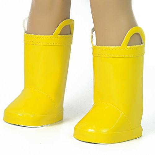 newyork yellow rain boots
