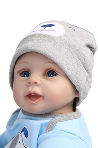 NPKDOLLS Baby Soft Boy 55cm Mouth Cute boy Toy Dog Cute Doll Gift Ages