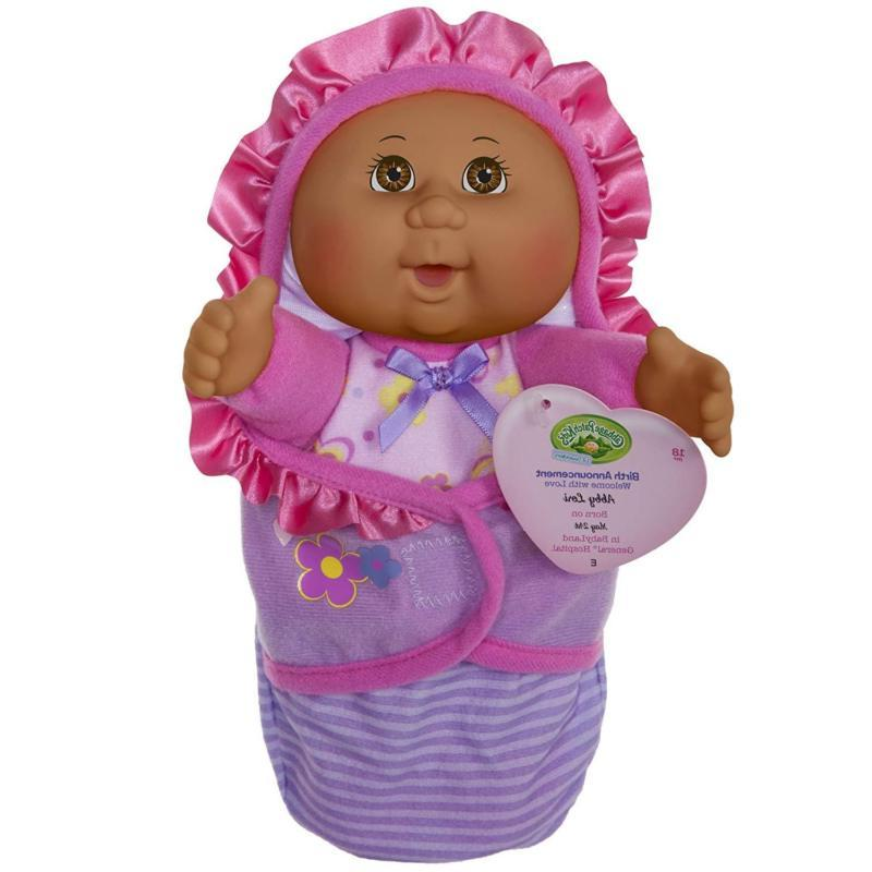 official newborn baby african american girl doll