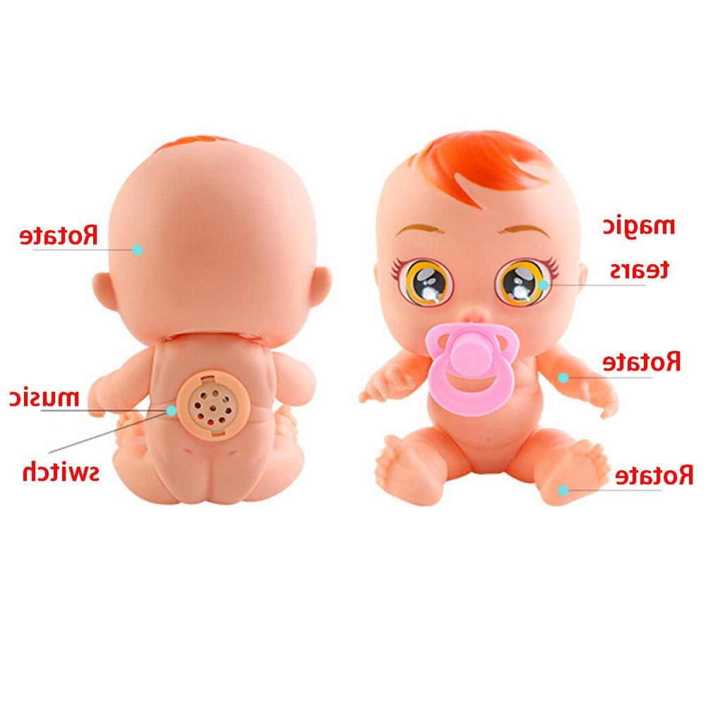 Original Silicone Inteiro Cry <font><b>Dolls</b></font> For Gift Toys