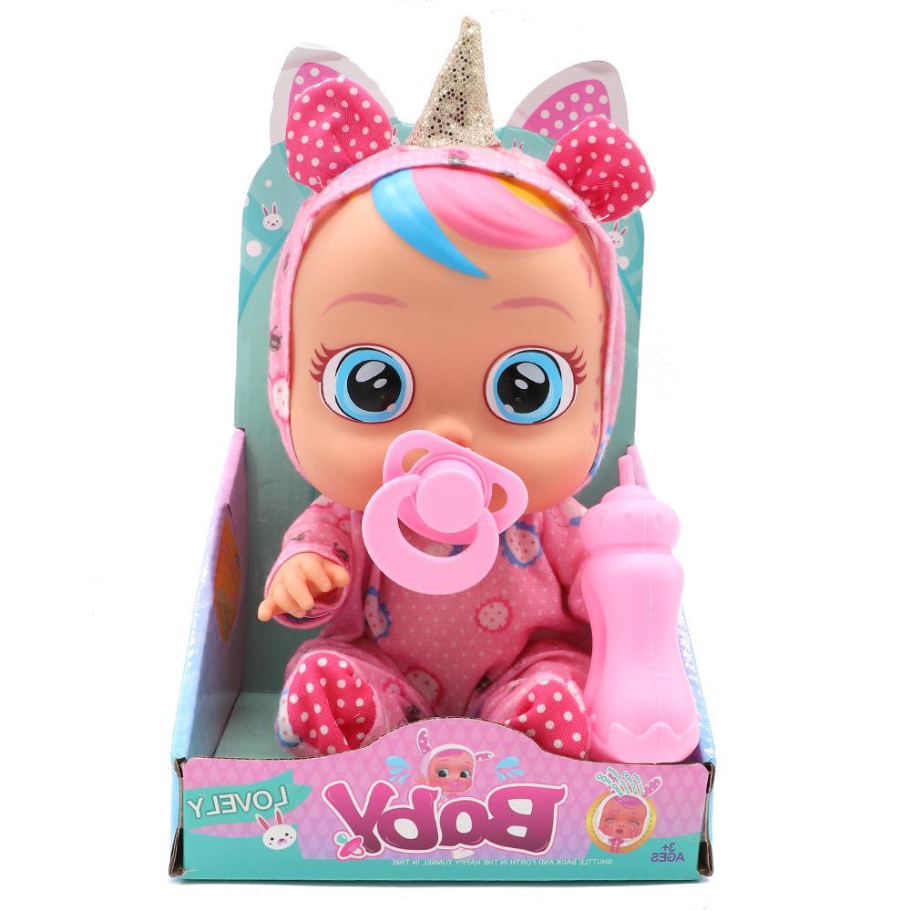 Original Unicorn Silicone Inteiro Cry Magic <font><b>Dolls</b></font> For Gift Toys