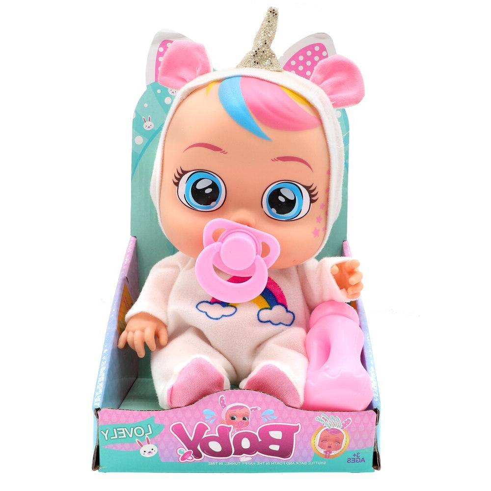 Original 26CM Silicone Inteiro <font><b>Doll</b></font> Cry Magic <font><b>Dolls</b></font> Surprise For Girl Toys