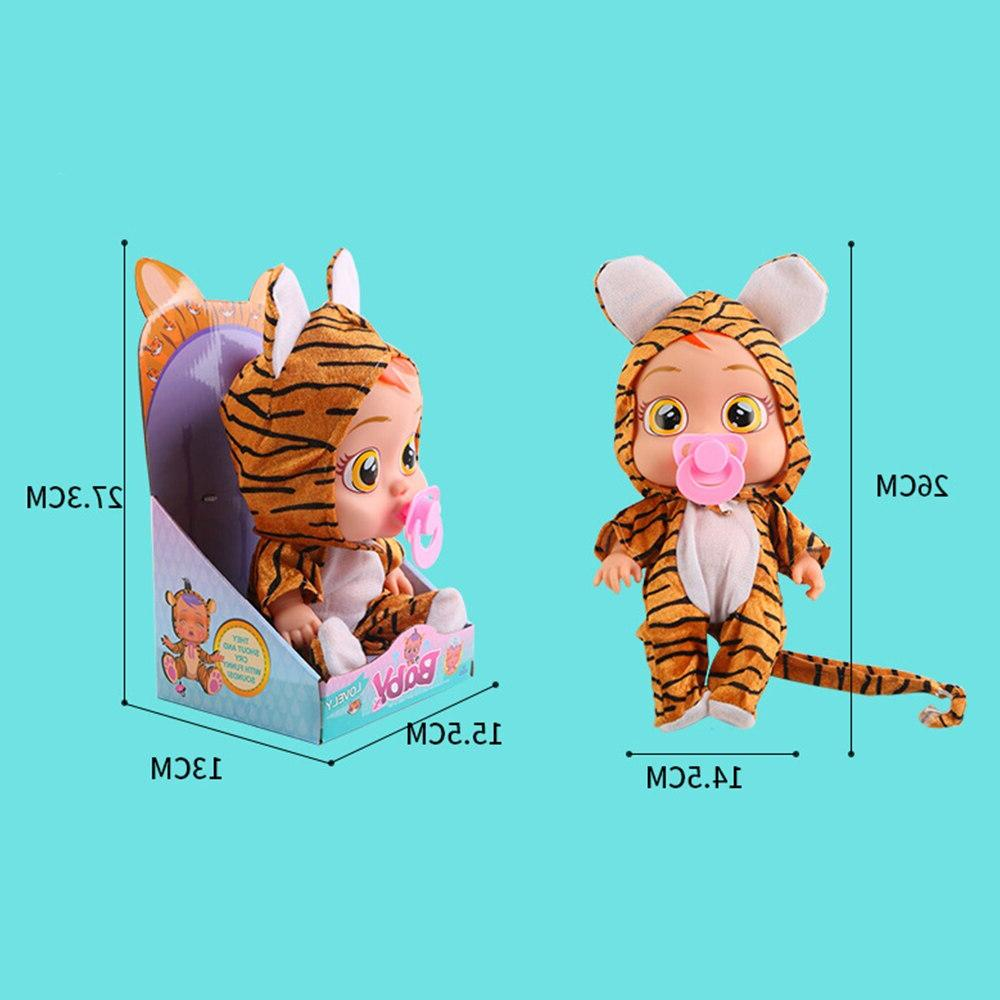 Original Silicone Inteiro Reborn Cry <font><b>Dolls</b></font> Surprise LOLS For Girl Toys