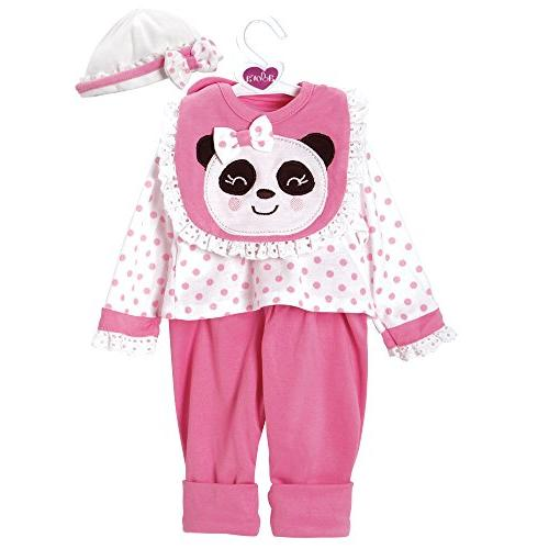 pandarrific outfit dress set