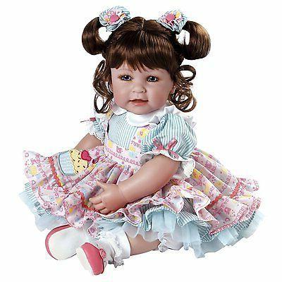 Adora Play Doll Inch - Brown Hair Blue