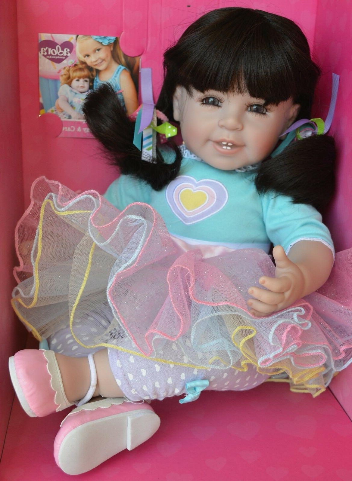 "Adora Dolls Smart Cookie Charisma Dolls,20/"" Doll Vinyl and Cloth Baby"