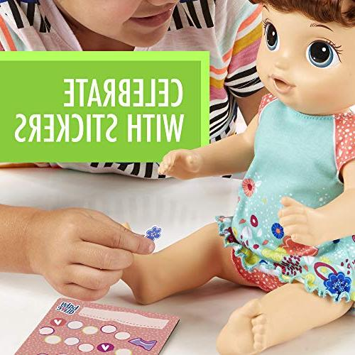 Baby Dance Baby: Talking Doll with Hair, Rewards Undies More, Doll On Potty, Girls Years Old